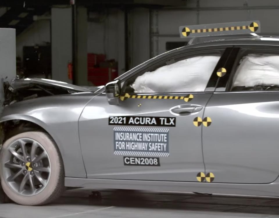 Acura TLX 2021 IIHS