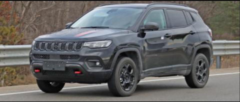 Nuevo Jeep Compass Trailhawk