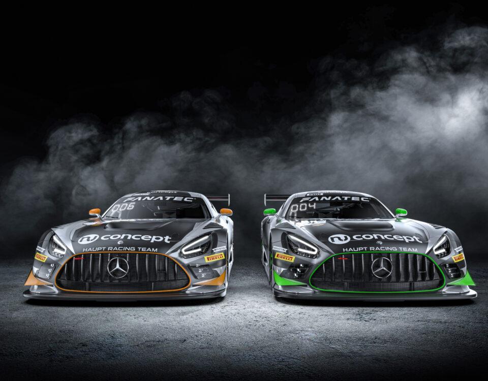 HRT Mercedes AMG GT3