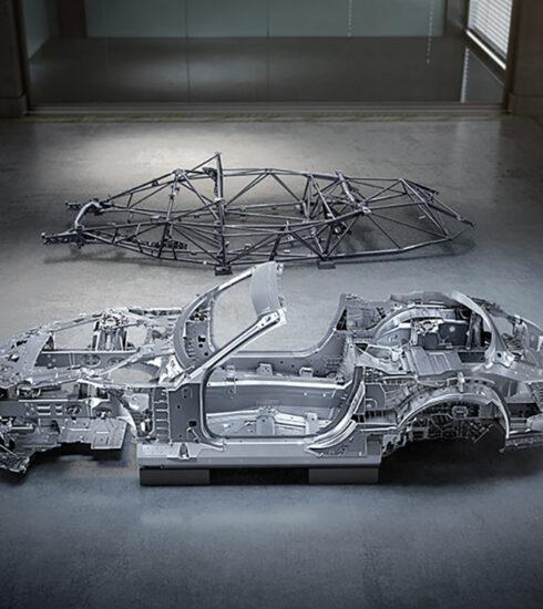 Nueva carrocería del Mercedes-AMG SL