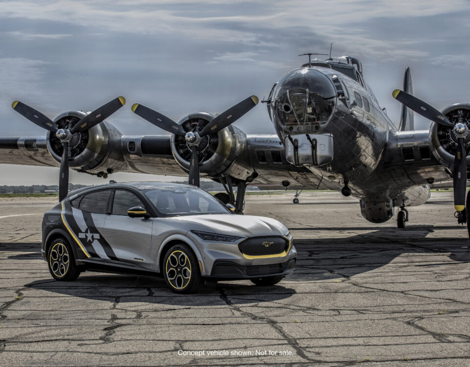 Mustang MachE edición especial