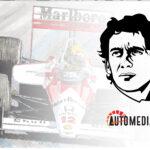 Ayrton Senna zurdo